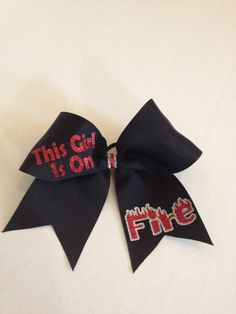 Cheer Bow by BowMamaCheerBows on Etsy, $10.00