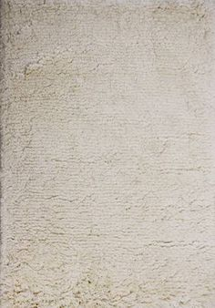 7523 Cyna Shag - Natural White. rug  option for your living areas