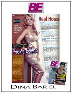 RHOC's Alexis Bellino in Dina Bar-El