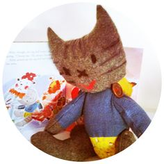 Kitty's New Doll ( Golden Book) by Catherine Stein skittykitty.com