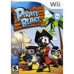 Pirate Blast - Nintendo Wii by Zoo Games - deal websites Publix Coupons, Funny Sweaters, Game Sales, Kim Deal, Christmas Toys, Games For Kids, Kid Games, Nintendo Wii, Bowser
