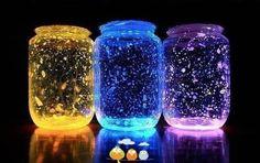 Efektowne lampiony, świecące światłem chemicznym