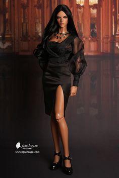 ITEM VIEW : EID - Woman - EID_Woman Black crystal set