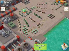 Boom Beach es un juego de estrategia en el que el usuario debe crear su propia base de operaciones y atacar a las bases creadas por otros usuarios, así como aquellas creadas automáticamente por el ordenador.