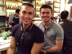 Remember when we dated? Yeah.  Location: Benedict, Grand Indonesia.