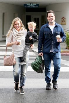 Hilary Duff & Mike Comrie's Modern Family