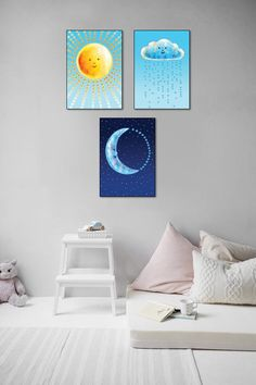Nursery hearts decor Sun printable Cloud kids room decor | Etsy Hearts Decor, Artwork Prints, Canvas Prints, Ups Store, Kids Room Art, Home Printers, Photo Center, Heart Decorations