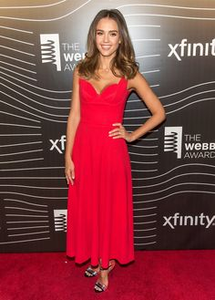 Pin for Later: All of Jessica Alba's Red Carpet Looks Follow 1 Rule May in New York City