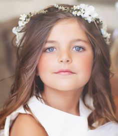 Cute for flower girl