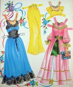 Romance Paper Dolls, Saalfield (3 of 6)