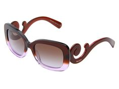 Prada 0PR 27OS Brown Gradient Violet/Brown Gradient