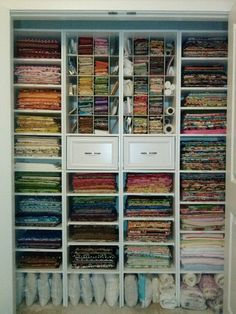 There is no such thing as too much fabric.
