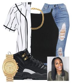 Nike and michael kors swag outfits, dope outfits, summer outfits, winter . Swag Outfits For Girls, Teenage Girl Outfits, Teen Fashion Outfits, Dope Outfits, Cute Casual Outfits, Grunge Outfits, Look Fashion, Stylish Outfits, Summer Outfits