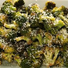 Roasted Broccoli with Parmesan Cheese: quick & easy #recipe!