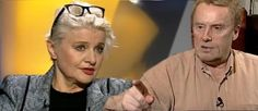Mr. Olbrychski - well known Polish actor - does not want to play with acctress, becouse of her political preferences (she likes PIS party); Fot. wPolityce.pl / Youtube