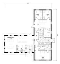 House Drawing, Sims House, Sims 4, Bungalow, House Plans, Sweet Home, Villa, Floor Plans, Construction