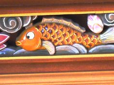 fish in the temple