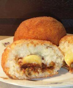 Jamie's Bloggers / Arancini (Sicilian Stuffed Rice Balls)