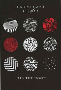 An awesome poster of the album cover from the smash-hit LP Blurryface by Twenty One PIlots! Ships fast. 24x36 inches. Check out the rest of our excellent selection of Twenty One Pilots posters! Need P