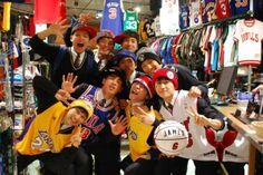 【大阪店】 2014年4月24日 11人でご来店して頂きました!! お店がとても賑やかになって楽しかったです☆ミ また来てくださいね! #nba