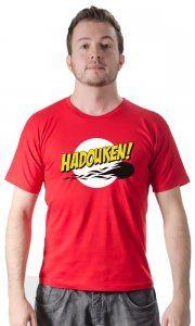 Camiseta Namorado Geek Hadouken Bazinga - Camisetas Personalizadas, Engraçadas e Criativas