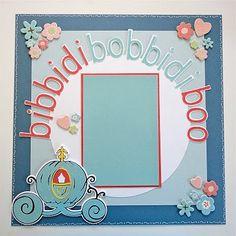 """Lauren's Creative...: Creative Scrapbook Layout: """"Bibbidi Bobbidi Boo!"""""""
