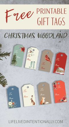 Pin On Christmas Tags