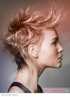 Ideas Punk color de pelo 2012 | peinados de moda, peinados de novia