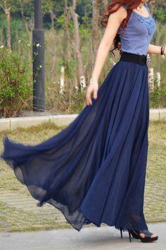 Sleeveless Color Block Scoop Neck Maxi Dress