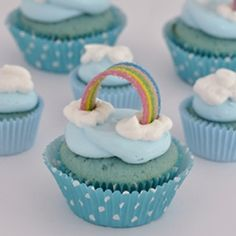 cupcake color - battesimo