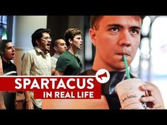 "▶ ""I Am Spartacus!"" Starbucks Prank - Movies In Real Life (Ep 9) - YouTube"