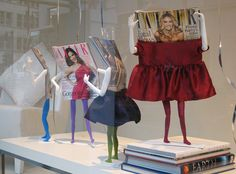Tatler's birthday window display in Moschino by accidentallondoner, via Flickr