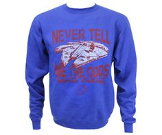 Sw Star Wars Never Tell Me The Odds | Boise State Bronco Shop