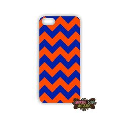 Game Day Orange and Blue Chevron iPhone Case!