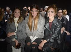 Helena Bordon, Bianca Brandolini and Alexia Niedzielski- Front Row