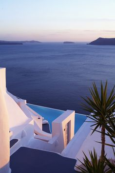 Santorini, Greece. This has got to be the most picturesque spot on earth if the photos are accurate
