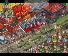 Las detalladas obras pixelart de Megapont