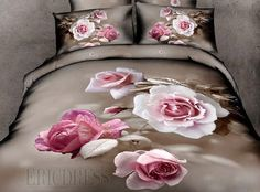 Old Dream as Flowers 100% Cotton 3D Bedding Sets  3D Bedding Sets