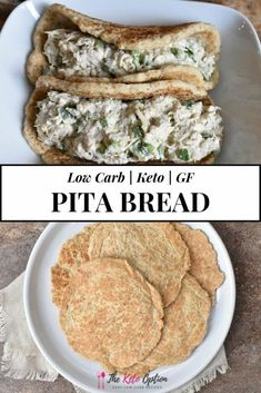 10 Most Misleading Foods That We Imagined Were Being Nutritious! Keto Pita Bread The Best Low Carb Pita Bread For Breakfast, Lunch, Dinner Or Snack Gluten-Free Bread Keto Bread Visit Low Carb Pita Bread, Keto Bread, Healthy Pita Bread, Gluten Free Pita Bread, Low Carb Keto, Low Carb Recipes, Healthy Recipes, Pain Keto, Keto Snacks