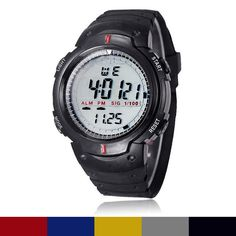 2016 Man Watch Outdoor Mountaineering Sports Digital Watch Men LED Wristwatches Freeshipping-in Digital Watches from Watches on Aliexpress.com | Alibaba Group