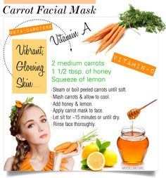 Facial recipes for girls