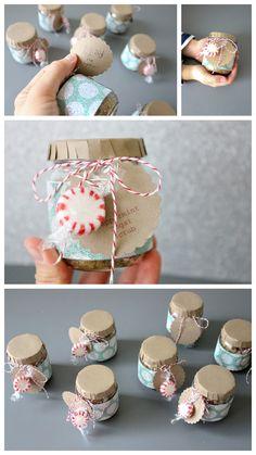 Peppermint Sugar Scrub - for kids to make!