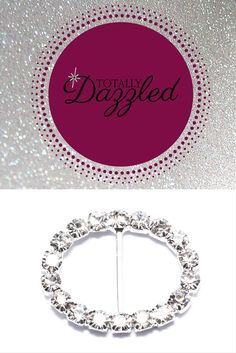 Add some bling to your wedding! This slider buckle is only $0.75 each! Slip a ribbon through it and use it in a variety of ways to make your day sparkle! Visit us online at totallydazzled.com to view our wide selection of rhinestone products.