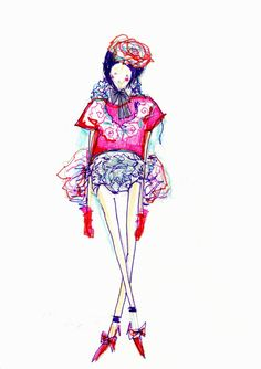 EXCLUSIVE SKETCHES: Sorcha O'Raghallaigh collection preview | Dazed Digital