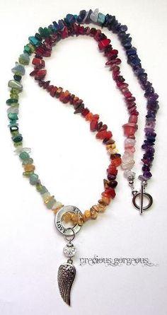 Alicia's Chakra Balancing Healing Stones necklace