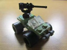 Lego Police, Lego Army, Robot Lego, Lego Moc, Legos, Halo Warthog, Lego Halo, Lego Memes, Micro Lego