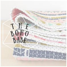 modern baby quilt-modern wholecloth quilt-baby by SwellandCloth