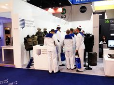 The International Defence Exhibition and Conference, #IDEX2015! Finland pavilion, design by Wulff Entre.
