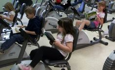Most Read and Ride programs get their bevy of stationary bikes via donation programs. If you've got an exercise bike collecting dust in your garage, consider finding out if your favorite school would like to have it donated.