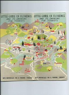 Florence map  by James Laish jameslaishcom  City Travel